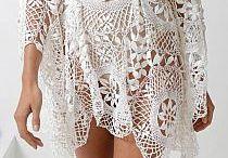 crochê vestido