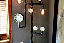 Pipe creations / Steampunk & vintage inspired items