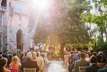 OUTDOOR CEREMONY/ by The Wedding Company
