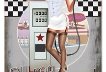 Vintage Pin Ups / by Becky York