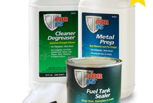Repair Fuel Tank | Tank Sealer / Fuel tank equipment, tools, repair kits and accessories for your motorcycle and car restoration and maintenance projects.