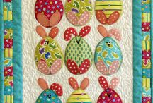 Little Quilts / Small but perfectly formed wall hangings