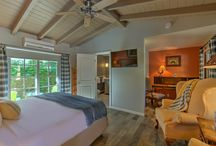 Cowboy Room at Colt's Lodge   Palm Springs CA / The Cowboy Room at Colt's Lodge in Palm Springs is dedicated to the Cowboy way of life and has Cowboy themed décor. The poolside room boasts a King Sleep Number bed, writing area with desk, private patio, and more.