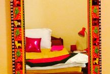 Mirror series - BANARASIYA from Accessory2design / Range of interior accessories inspired from Benares, India