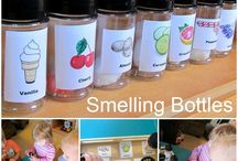 kindergarten - 5 senses