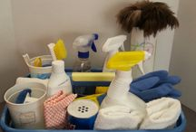 CLEANING / by Rich Bridget