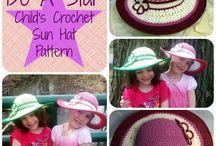 crochet Sun Hats (FREE Crochet Patterns)