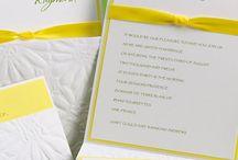 Summer Wedding Invitations / by InvitesWeddings