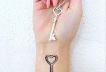 sidan tatuering