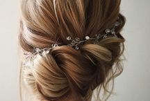 Haircuts for tango festivals / Vintage, retro, a la wedding haircut that will let you dance and look glamour.