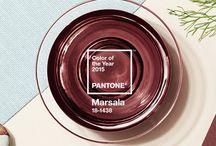 Marsala / Pantone 2015 http://www.bossa.mx/2014/12/marsala-el-color-del-2015-segun-pantone/