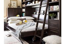 Wall Beds / Wall beds, sometimes referred to as Murphy beds, are an amazing piece of integrated furniture. They can be the perfect answer to that guest room you don't have but always wanted!