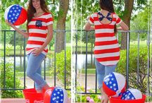 Cute July 4th Outfits-Patriotic