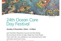 Ocean Care Day 2017 / Event: 24th Ocean Care Day Festival  When: Sunday 3rd December  Where: Manly Ocean Beachfront  Time: 10:00am-4:30pm