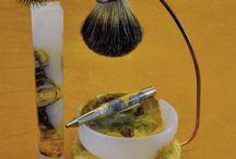 Deadwood Shaving sets / Custom made shaving sets from Deadwood Artisan Blanks