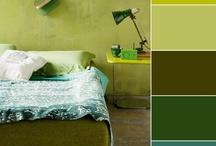 combinación colores decoración