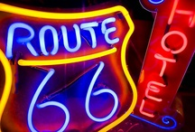 Route 66 / by Donna Barrett