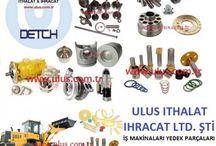 Hyundai Loader, Yükleyici yedek parçaları