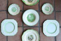 Plate arrengements