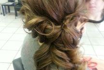 hairdo & shoes
