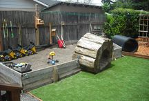 Backyard Playscapes / by Louise Munson