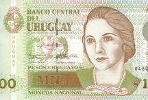 Escritoras en el dinero / Escritoras homenajeadas en las divisas