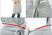 Aprons & kitchen textiles. Põlled, köögirätikud jms.