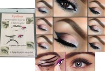 Eyes Makeup Tutorial / Eyes are the window of your heart. The beauty of your heart can be unfolded by the beauty of your eyes. Thai beautiful eyes soften everything.