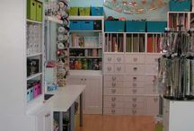 Craft room idea's