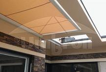 Veranda (Télikert árnyékoló) / Kiváló megoldás családi házak teraszainak, télikertek üvegfelületeinek és egyéb tetőszerkezetek  árnyékolására