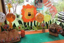 cumpleaños infantil / decoracion animales