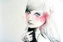 карандаш + цвет