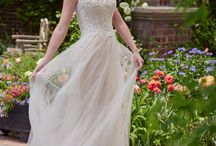 The Blushing Bride / For the women who love romance, sunsets, and bouquets. These gowns will surely appeal to your sweet side.  All featured wedding dresses are available for purchase at Weddings with Joy, located in Olympia, Wa.