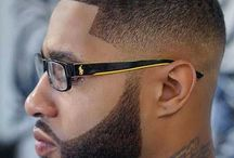haircut afro