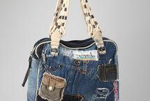 Recycled denim / Bag