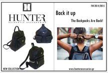 Back it up...The backpacks are back / Οι backpacks ή αλλιώς τσάντες πλάτης ακολουθούν την σπορ τάση του χειμώνα και αποκτούν ένα street style χαρακτήρα.Συντονισμένες με την sporty τάση του χειμώνα οι τσάντες πλάτης ολοκληρώνουν τα αθλητικά looks μας και δείχνουν απίστευτα cool, ενώ συνδυασμένες με skater skirts και oversized πλεκτά μοιάζουν κατάλληλες για τις πιο super καθημερινές εμφανίσεις