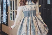 Sweet lolita style.