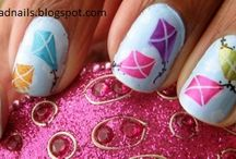 (k) öröm -  nail art