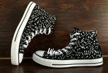 Schuhe malen