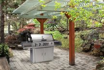 Your Cozy Fireplace / Gas and electric fireplaces, outdoor fireplaces, and BBQ Grills / by Betty