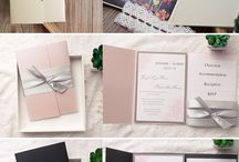 Wedding Invitations and Favors / Wedding invites, favors, other paper products for weddings