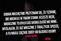 RAP CYTATY