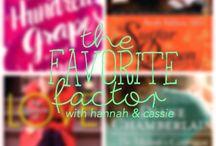 Favorite Factor / Adult fiction talk