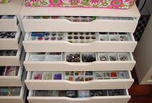Craft Room / Ideas for my dream craft room, inspirational storage, layout ideas.