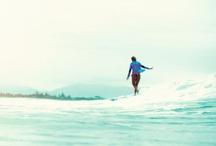 Surf & Sun / We Love the California Sun, Sand, and Waves.