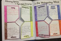 Classroom - projects/foldables