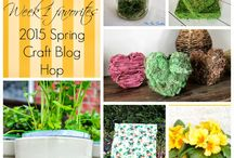 Signs of Spring - SCBH2015 Favorites / Craft projects, garden ideas, DIY and more to get you in the mood for Spring!