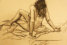 Life Drawing / Drawing live models