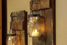 Luminárias varanda