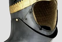 XIV medieval helm sources